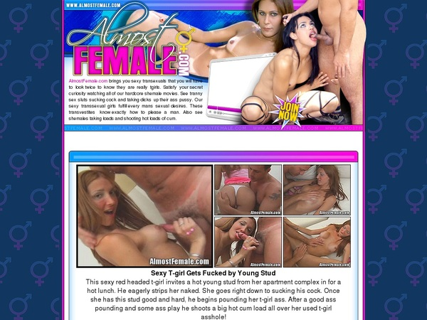 Almostfemale.com Paypal Deal