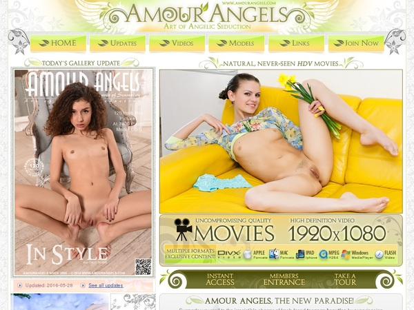 Amour Angels Password Accounts