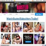 Bustedbabysitters Promo Link