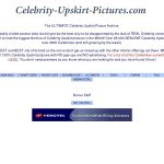 Celebrity Upskirt Pictures Discount Price