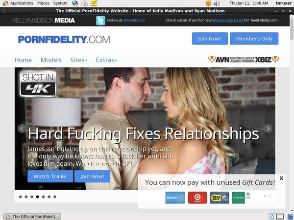 Porn Fidelity Discount Rate
