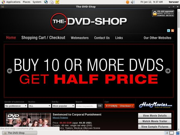 The DVD Shop Reviews