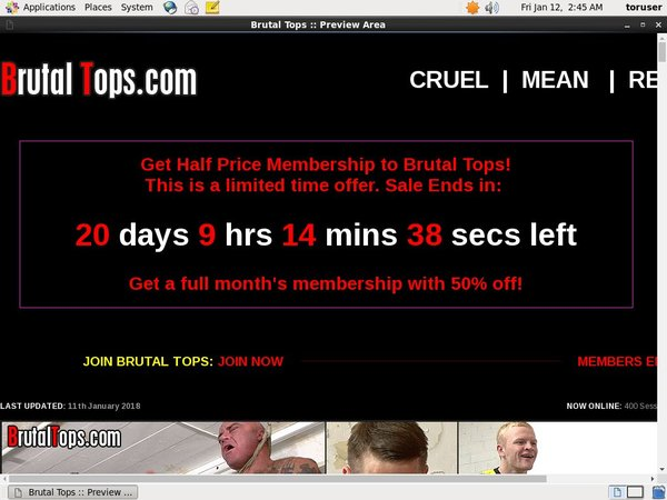Try Free Brutal Tops