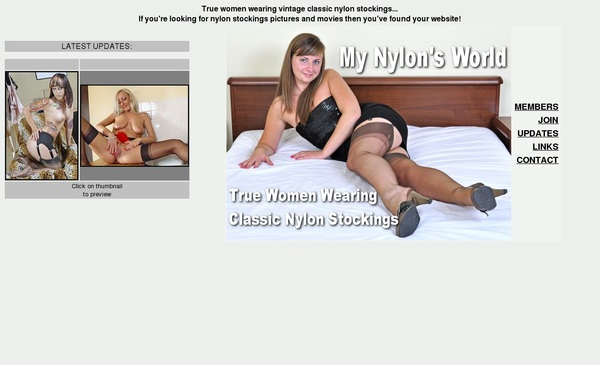 My Nylons World Women