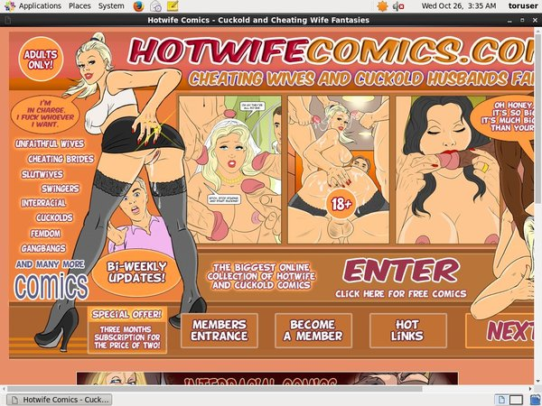 Account For Hotwife Comics Free