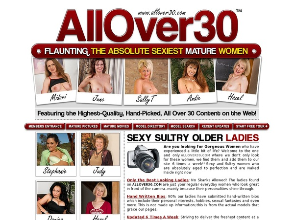 Try All Over 30 Original For Free
