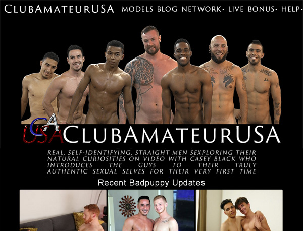 Club Amateur USA User And Pass