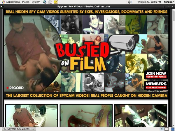 How To Access Busted On Film