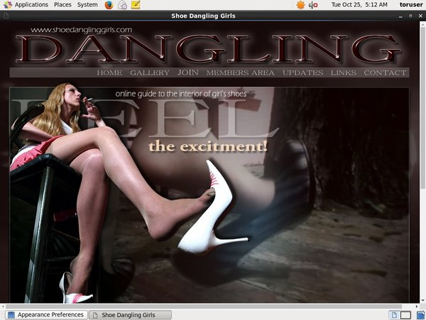 Is Shoe Dangling Girls Real?